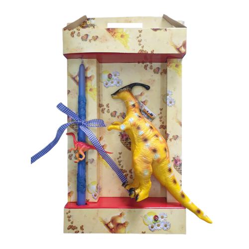 Λαμπάδα με Δεινόσαυρο με Ήχο ΟΕΜ - 1875