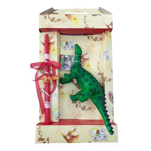 Λαμπάδα με Δεινόσαυρο με Ήχο ΟΕΜ - 1886