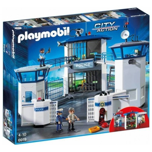 Playmobil 6919 Αρχηγείο Αστυνομίας και φυλακή ασφαλείας - 1008
