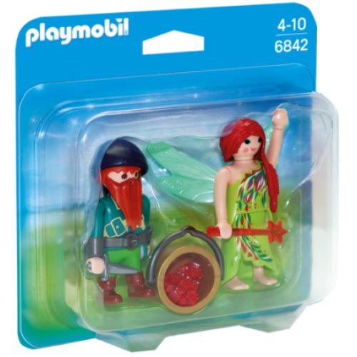 Playmobil 6842 Duo Pack νεράιδα και νάνος - 1102
