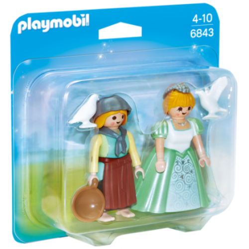 Playmobil 6843 Duo Pack πριγκίπισσα και υπηρέτρια - 1103