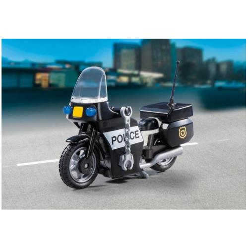 Playmobil 5648 Βαλιτσάκι Αστυνόμος με μοτοσυκλέτα - 1105