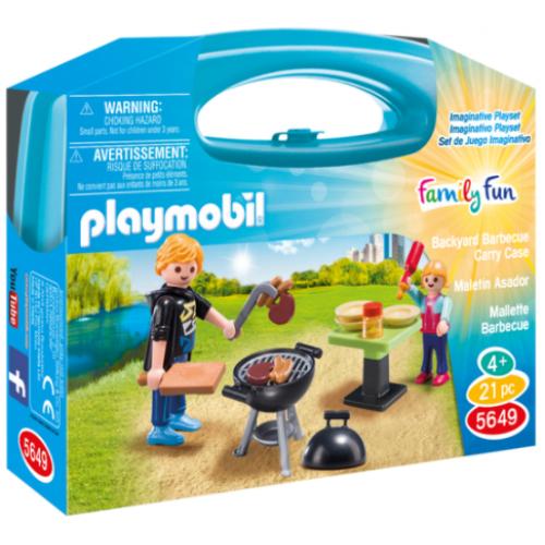Playmobil 5649 Βαλιτσάκι Barbecue - 1106