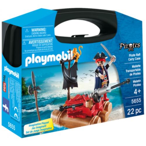 Playmobil 5655 Βαλιτσάκι Πειρατής με σχεδία - 1109