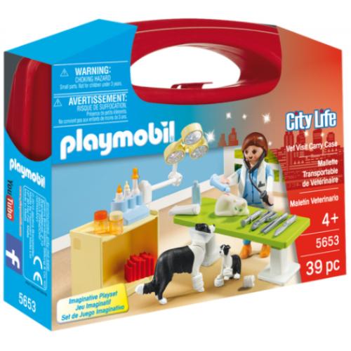 Playmobil 5653 Βαλιτσάκι Κτηνιατρείο - 1110