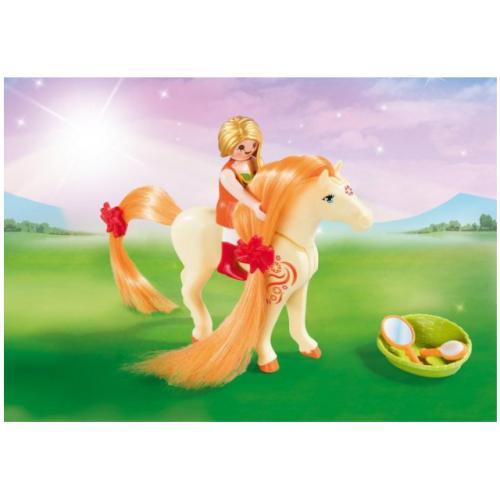 Playmobil 5656 Βαλιτσάκι Πριγκίπισσα με άλογο - 1112