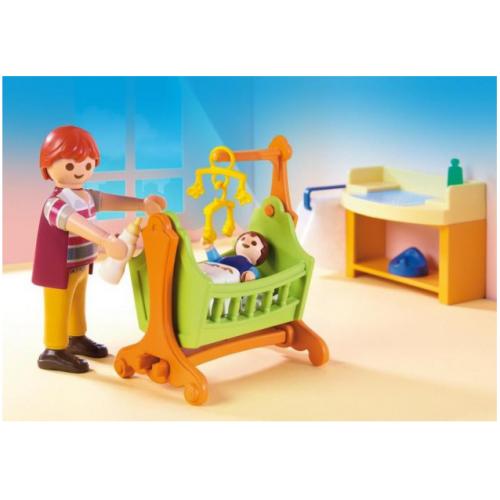 Playmobil 5304 Βρεφικό δωμάτιο με κούνια - 1113