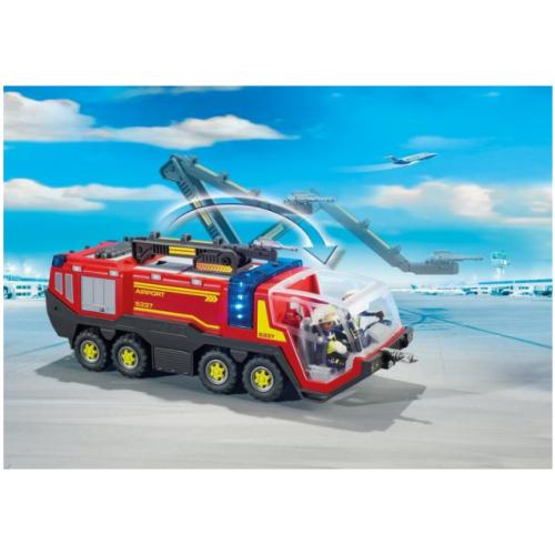 Playmobil 5337 Πυροσβεστικό όχημα αεροδρομίου με φωτιά και ήχο - 1114