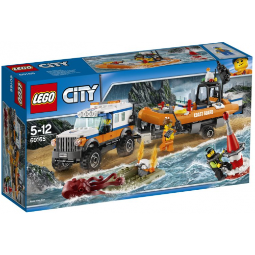 LEGO 60165 CITY 4x4 Response Unit - 1124