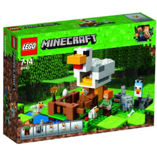 LEGO MINECRAFT The Chicken Coop 21140 - 1137