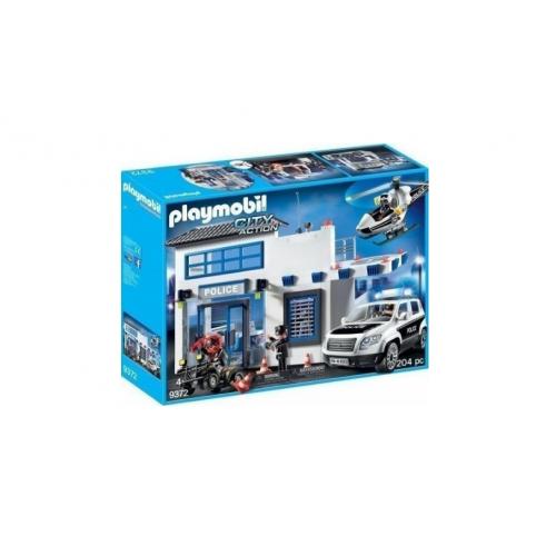 Playmobil 9372 Αστυνομικό Τμήμα με Περιπολικό και Ελικόπτερο - 1141