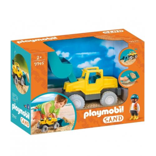 Playmobil 9145 Μπουλντόζα εξωτερικού χώρου - 1144