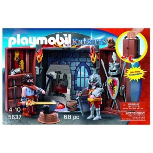 """Playmobil 5637 Play Box """"Σιδηρουργείο Ιπποτών"""" - 1146"""