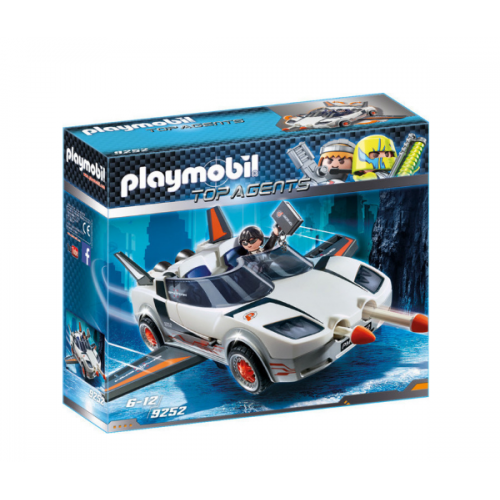Playmobil 9252 Κατασκοπευτικό όχημα του Πράκτορα Π - 1147
