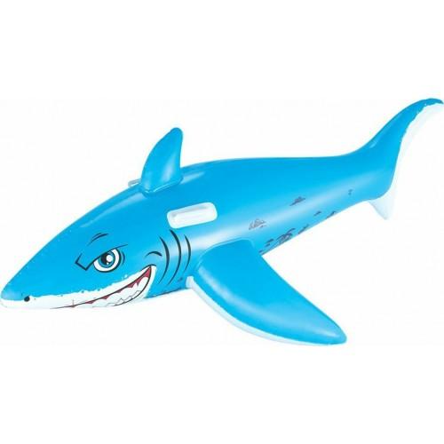 Bestway 41032 Φουσκωτό Ιππευτικό Στρώμα  <<Ο Μεγάλος Λευκός Καρχαρίας >> 1,83m X 1.02m - 2019