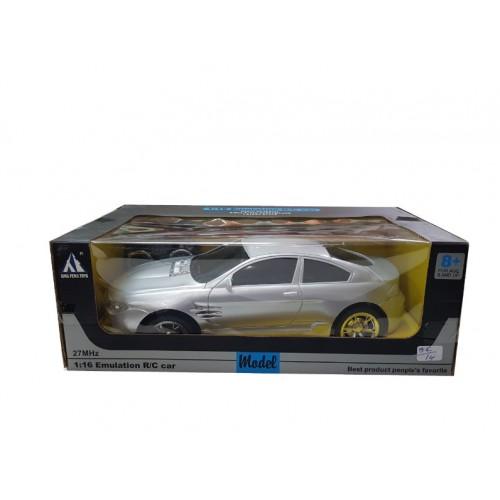 Αυτοκινητάκι τηλεκατευθυνόμενο ασύρματο XF 1:16 Emulation R/C - 1272 - Ασημί - ΟΕΜ