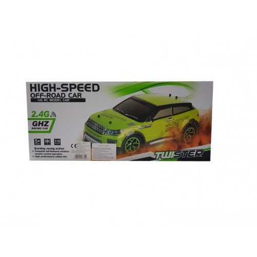 Αυτοκινητάκι τηλεκατευθυνόμενο ασύρματο ZENYEL HIGH SPEED OFF - ROAD CAR 1 : 16 MODEL CAR - 1292 - AΣΠΡΟ - ΟΕΜ