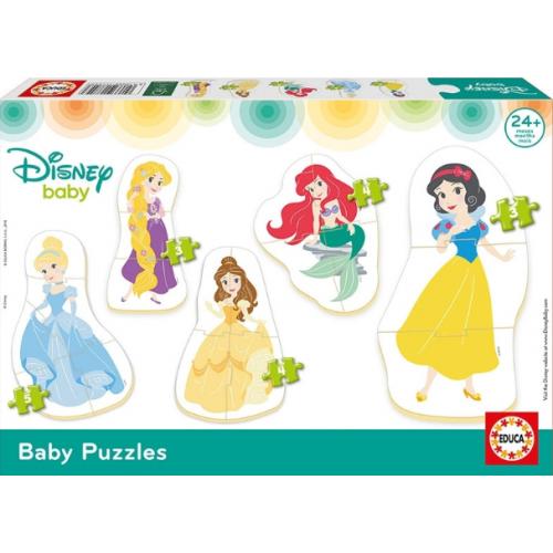 EDUCA Baby Puzzle Πριγκίπισσες της Disney 17754 - 1259