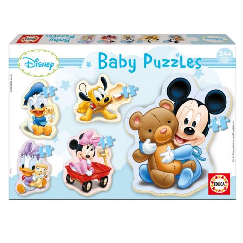 EDUCA Baby Puzzle Η Παρέα του Mickey της Disney 13813 - 1260