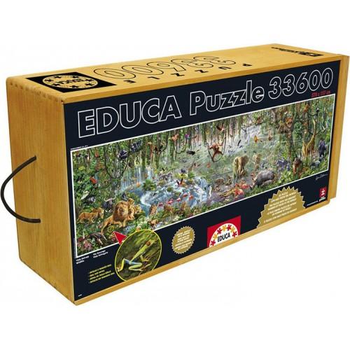 EDUCA Πάζλ Wild Life 33600 ΚΟΜΜΑΤΙΑ 16066 - 2027