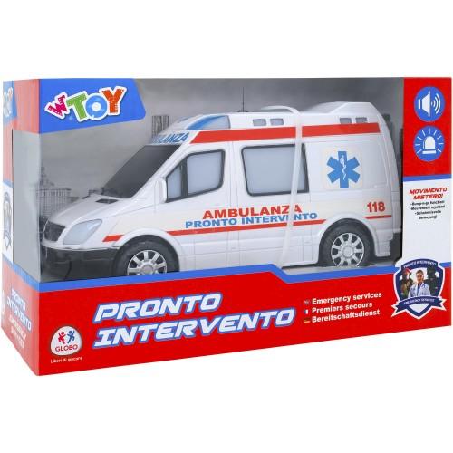 GLOBO W'TOY PRONTO INTERVENTO EMERGENCY SERVICES 38188 - 1706