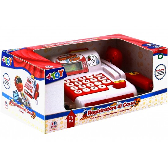 GLOBO W'TOY Cash Register 36658 - 1713
