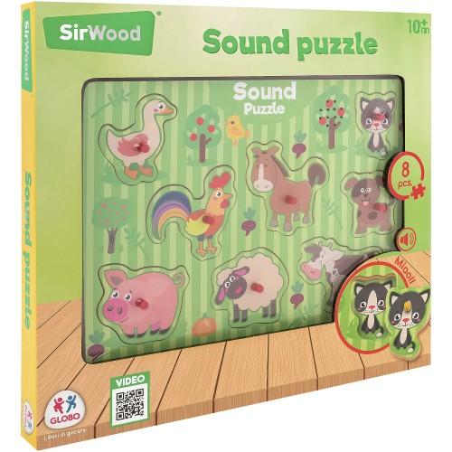 GLOBO SirWood Sound Puzzle 39936 - 1716