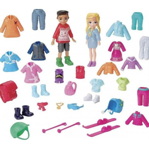 MATTEL Polly Pocket Snow Style Fashion Pack GGJ49 - 1953