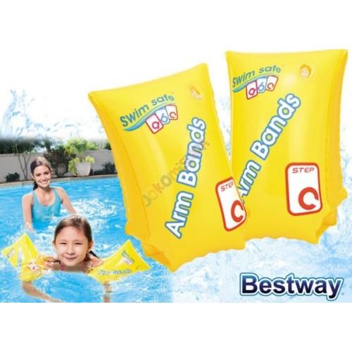 Bestway Φουσκωτά Μπρατσάκια Swim Safe ABC Κίτρινα (3-6 ετών) 32110 - 1199