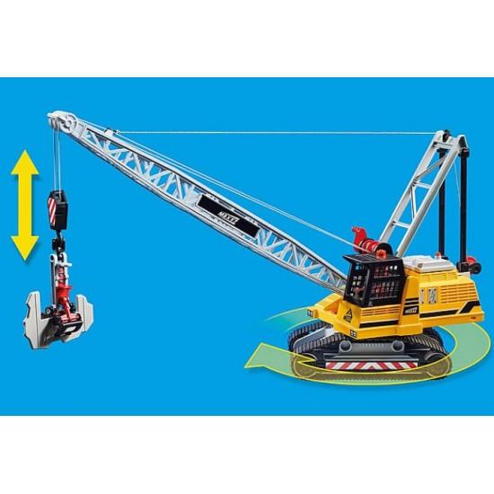Playmobil 70442 Γερανός Κατεδάφησης Με Ερπύστριες Και Διμικά Στοιχεία - 1405