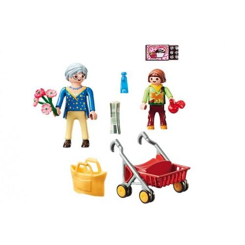 Playmobil 70194 Γιαγία Με Εγγονή - 1478