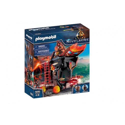 Playmobil 70393 Novelmore Πολιορκητική Μηχανή Φωτιάς Του Μπέρναμ - 1493