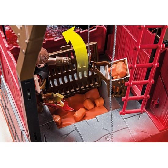 Playmobil 70390 Novelmore Ορυχείο Λάβας Του Μπέρναμ - 1497