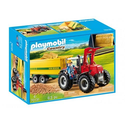 Playmobil 70131 Μεγάλο Τρακτέρ Με Ρυμούλκα Τροφοδοσίας - 1520