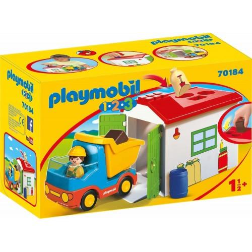 Playmobil Φορτηγό με Γκαράζ 70184 - 1661