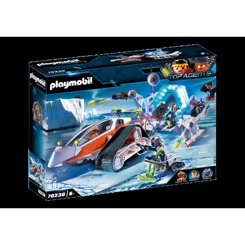 Playmobil Top Agents 70230 Ερπυστριοφόρο Όχημα της Spy Team - 1813
