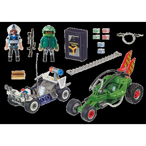 Playmobil City Action 70577 Αστυνομική Καταδίωξη Go-Kart - 1818