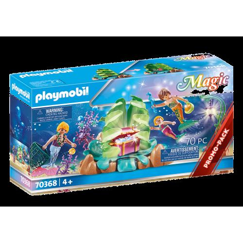 Playmobil Magic 70368 Γοργόνες Στην Υποβρύχια Σάλα τους - 1821