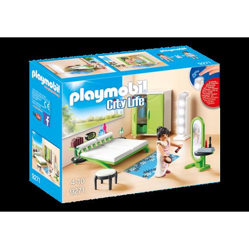 Playmobil City Life 9271 Μοντέρνο Υπνοδωμάτιο - 1822