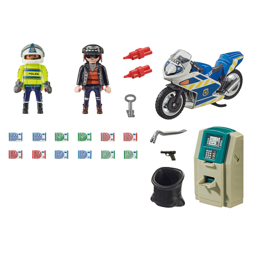 Playmobil City Action 70572 Διάρρηξη στο ΑΤΜ - 1823