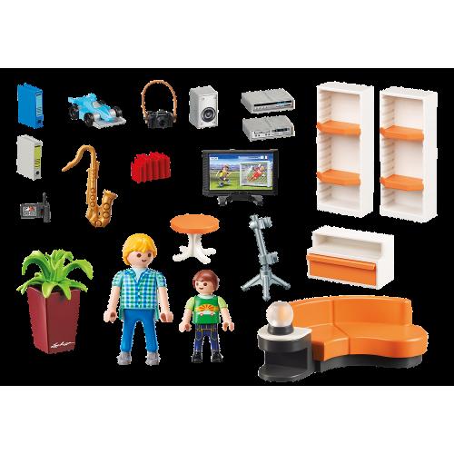 Playmobil City Life 9267 Μοντέρνο Καθιστικό - 1824