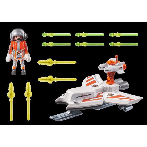 Playmobil Top Agents 70234 Ice Jet της Spy Team - 1827