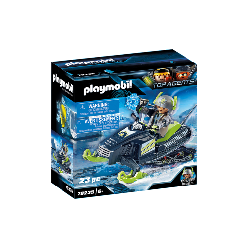Playmobil Top Agents 70235 Ice Scooter των Arctic Rebels - 1828
