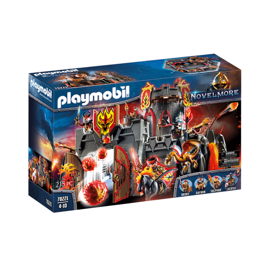 Playmobil 70221 Φρούριο Ιπποτών του Μπέρναμ - 1934