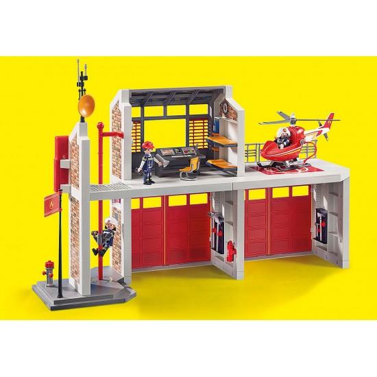 Playmobil City Action 9462 Μεγάλος Πυροσβεστικός Σταθμός - 2075