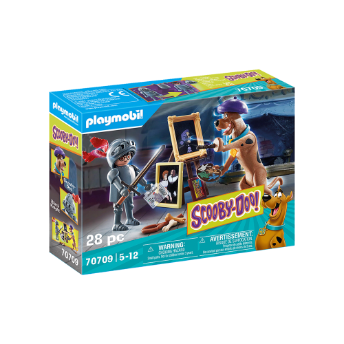 Playmobil SCOOBY-DOO 70709 Περιπέτεια με τον Black Knight - 2085