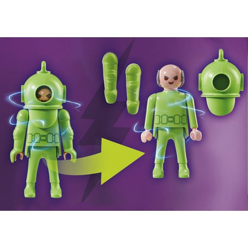 Playmobil SCOOBY-DOO 70708 Περιπέτεια με τον Ghost Diver - 2087