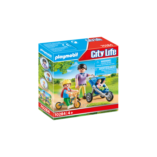 Playmobil City Life 70284 Μαμά και παιδάκια - 2089