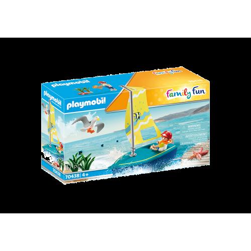 Playmobil Family Fun 70438 Βαρκάκι ιστιοπλοΐας - 2090