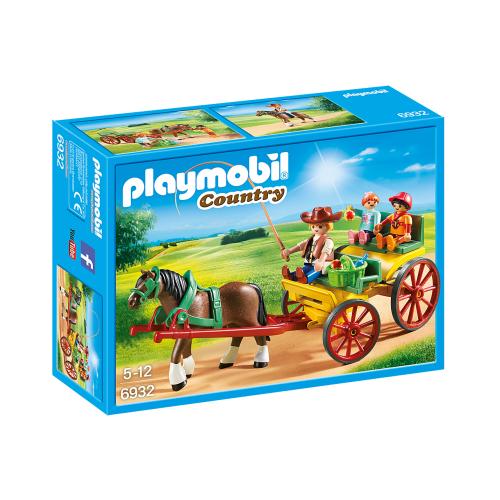 Playmobil Country 6932 Άμαξα με οδηγό και παιδάκια - 2102